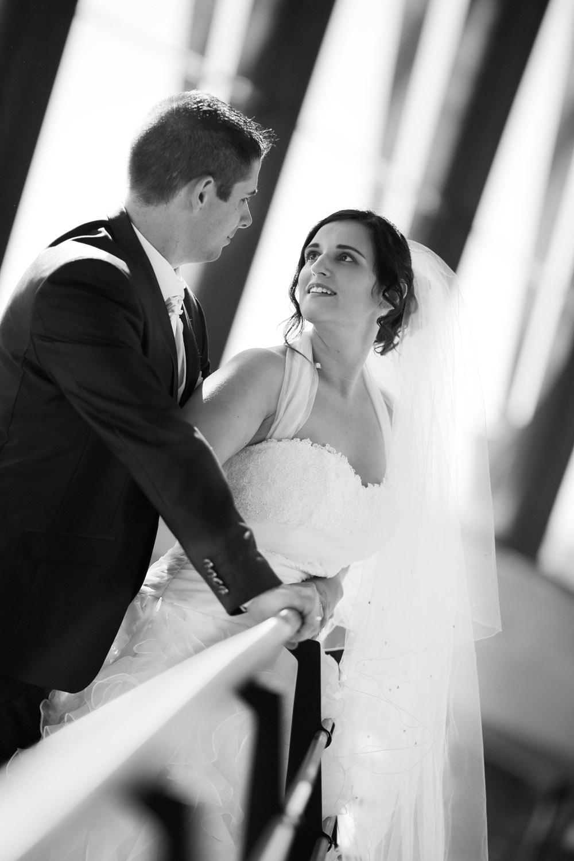 la mariée et son mari