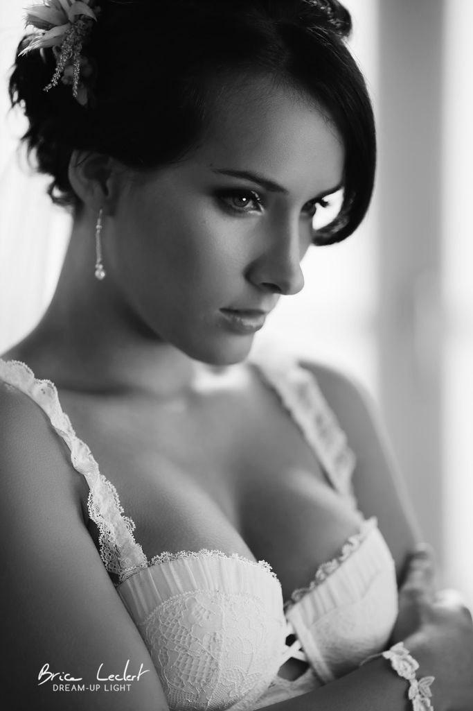 lingerie de la mariée