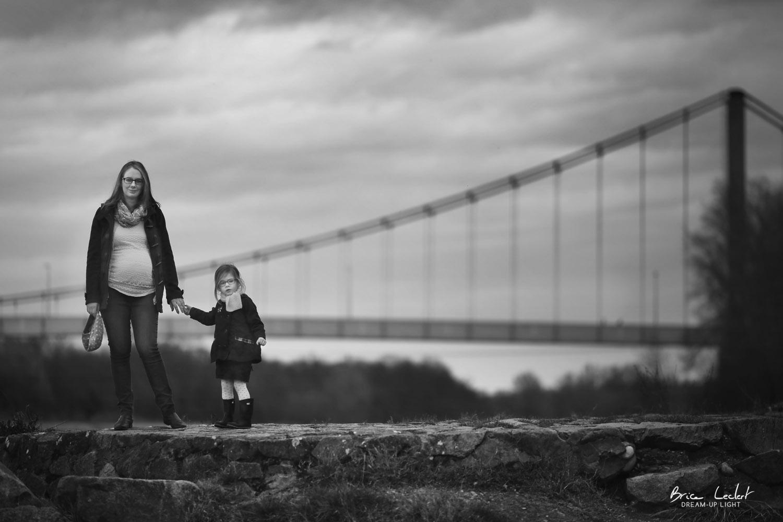photo d'une mère et de sa fille