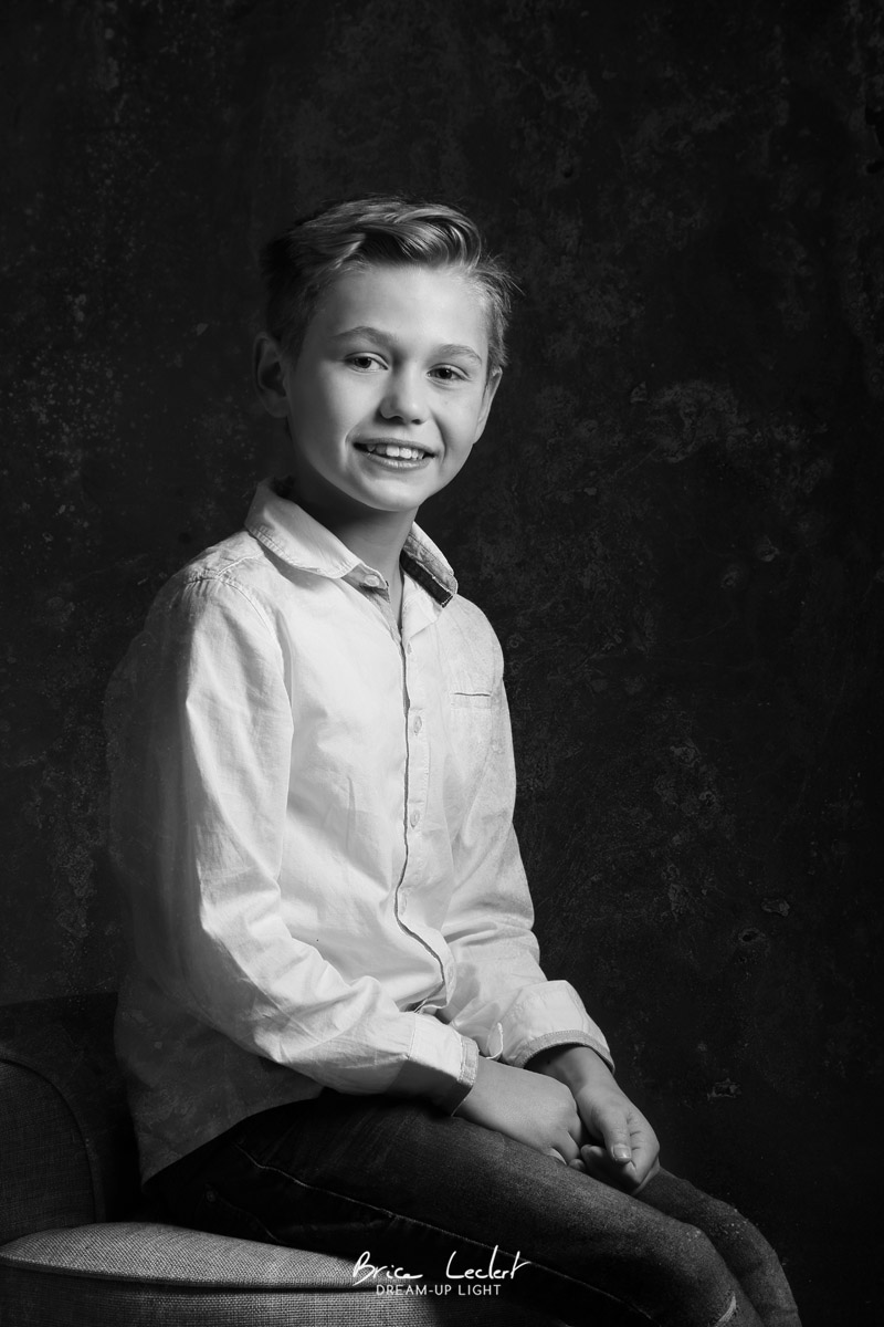 portrait jeune garçon