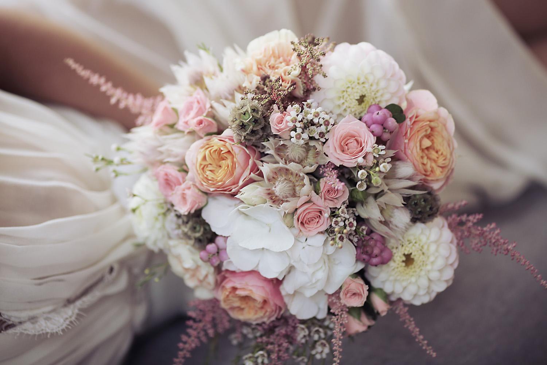 photographe de mariage bouquet de la mariée