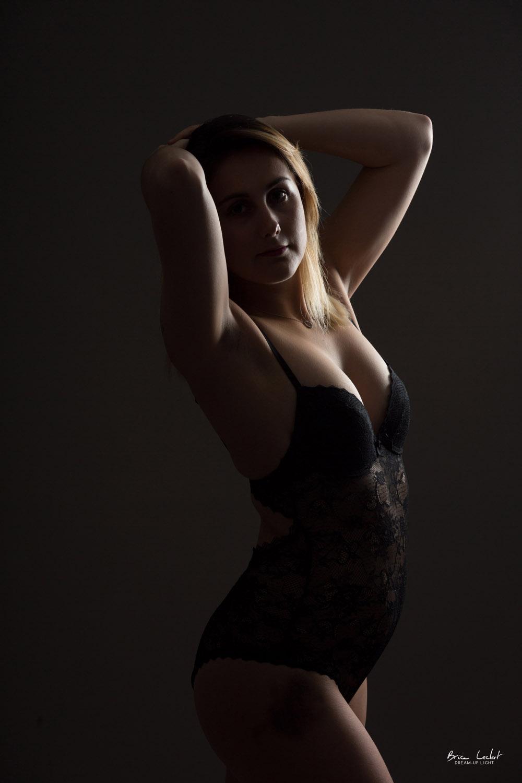 photographie lingerie en studio lyon