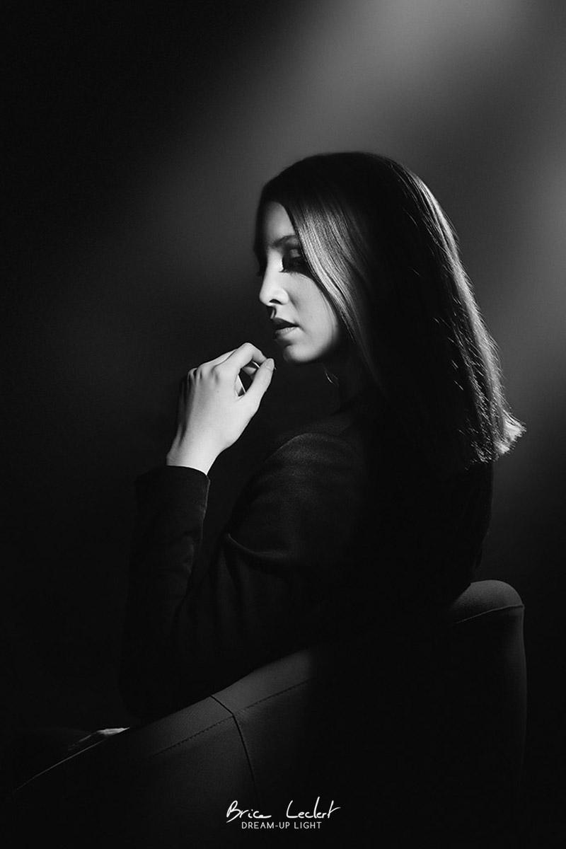 portrait de femme année 20