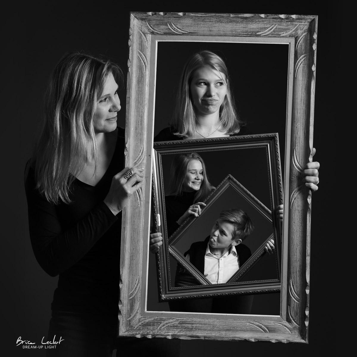 photographie de famille originale