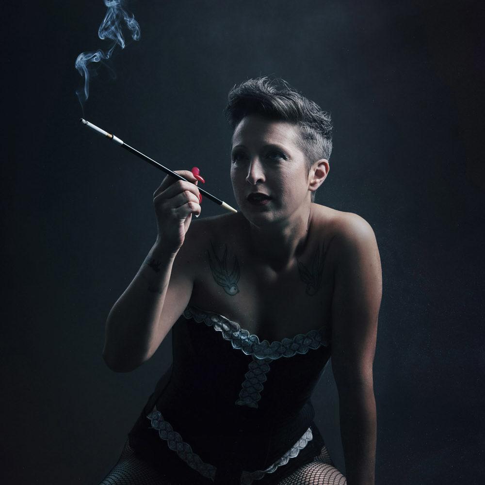 photographe lyon femme fume