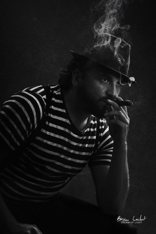 photographe lyon homme fumeur