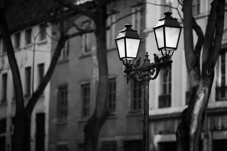 lampadaire de Lyon