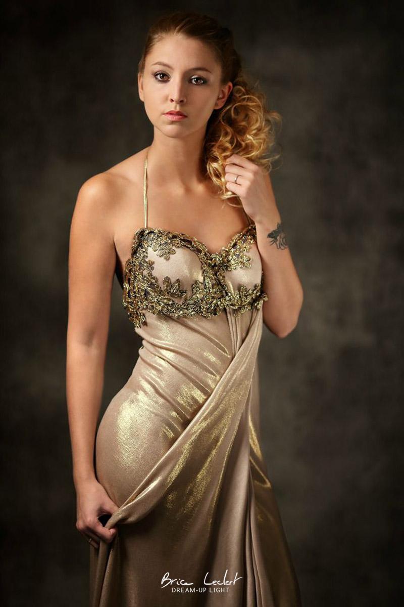 photo styliste de robe