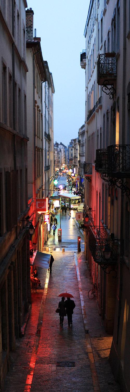 rue place des terreaux de Lyon