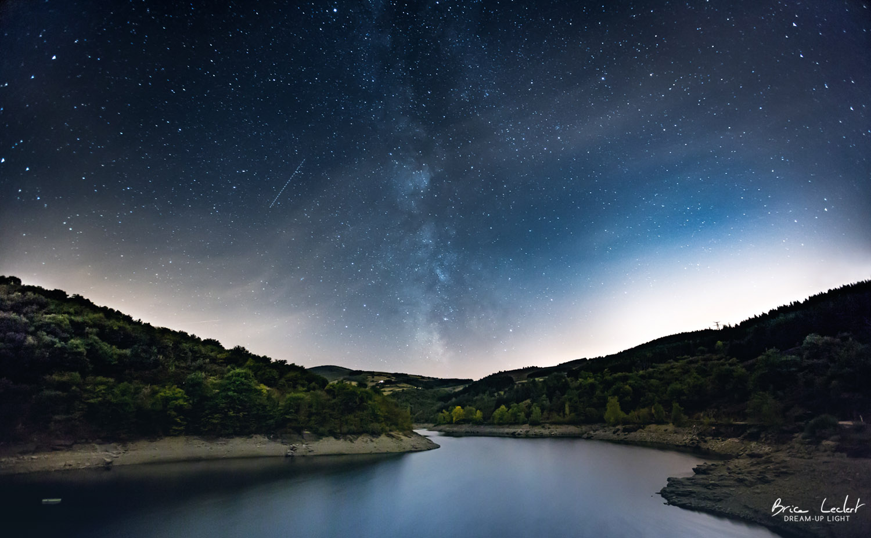 photographe paysage nuit  u00e9toiles