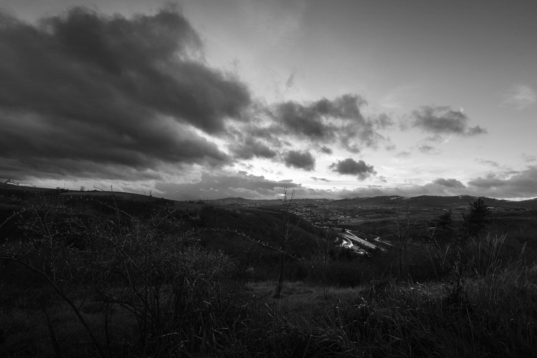 paysage nature vers Rive de gier