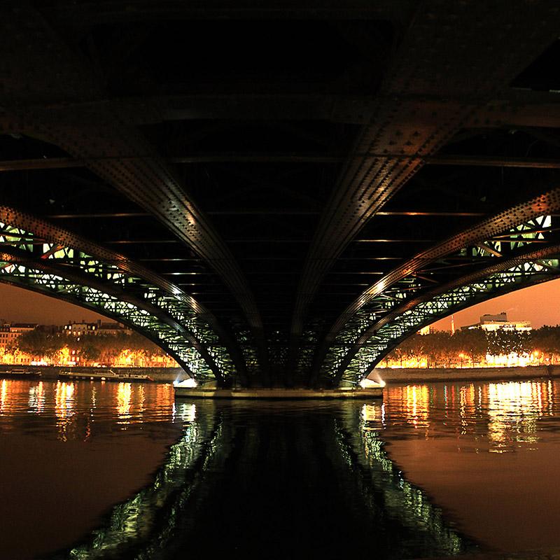 pont de l'université de lyon