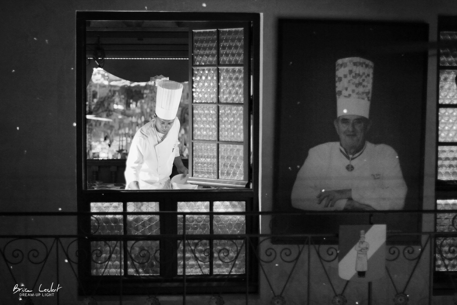 Une photo qui prend du sens, Paul Bocuse