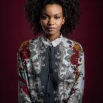 portrait femme couleur
