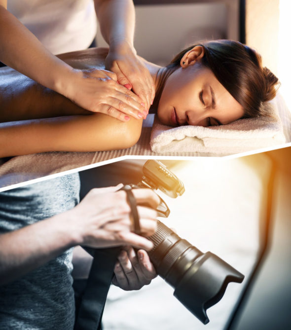 photographe + massage