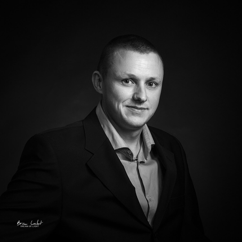 portrait-corporate-florent-perez noir et blanc