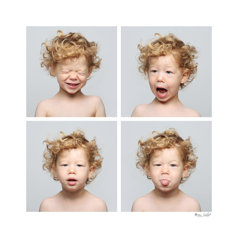 composition portrait enfant