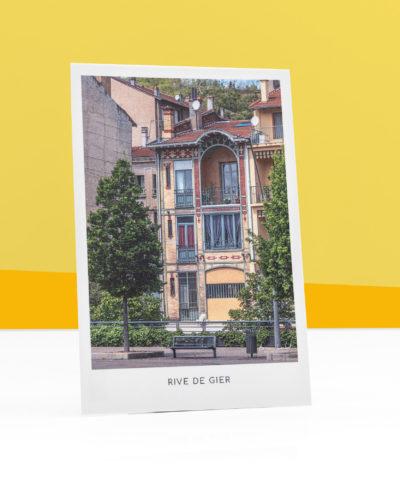 cartes-postales-maison-passerelle-rive-de-gier